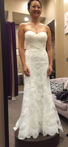 Casablanca Casablanca 2125 Altered To Have Trumpet Skirt Wedding Dress