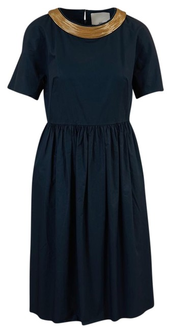 Preload https://img-static.tradesy.com/item/19854699/31-phillip-lim-navy-blue-cotton-with-gold-rope-trim-mid-length-cocktail-dress-size-8-m-0-1-650-650.jpg