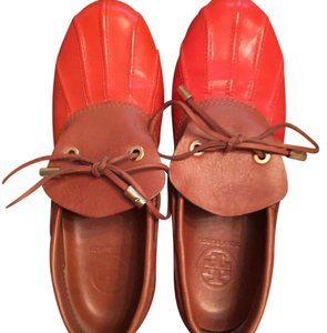 Tory Burch Orange Mules