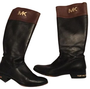 MICHAEL Michael Kors Black and cognac Boots