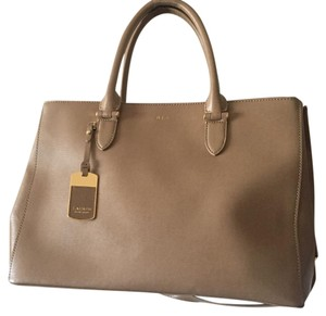 Ralph Lauren Satchel in Tan