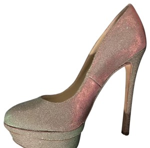 Brian Atwood Silver Platforms