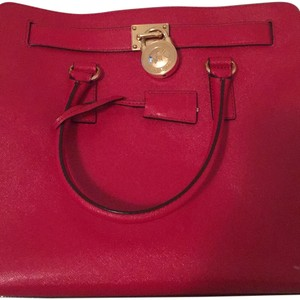Michael Kors Purse Hamilton Tote in Red