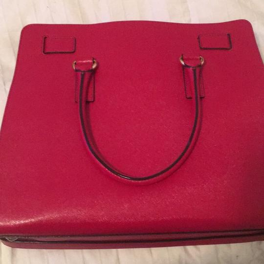 Michael Kors Purse Hamilton Tote in Red Image 3