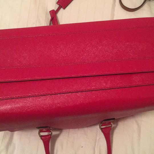 Michael Kors Purse Hamilton Tote in Red Image 6