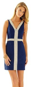 Lilly Pulitzer short dress True Navy on Tradesy