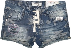 Harmony & Havoc Mini/Short Shorts Distressed Denim