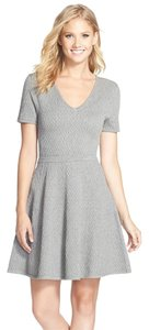 Trina Turk short dress Gray Fit & Flare on Tradesy