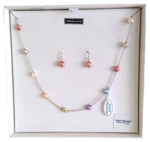 Honora Honora Pearl Necklace and Earrings