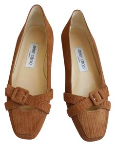 Jimmy Choo Brown Flats