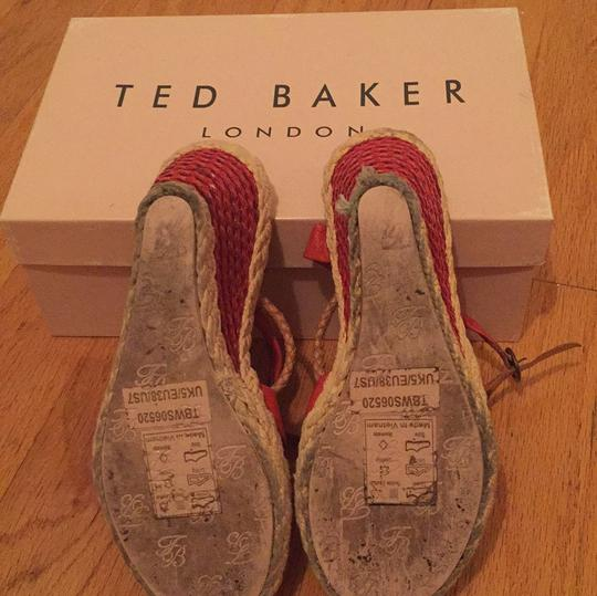 Ted Baker Red Wedges Image 4
