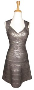 Herv Leger Bandage Fit And Flair Dress