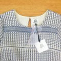 d.RA short dress Blue and white Jacquard Striped Short Sleeves on Tradesy Image 10