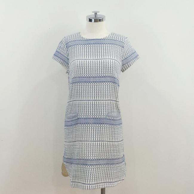 d.RA short dress Blue and white Jacquard Striped Short Sleeves on Tradesy Image 6