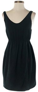 3.1 Phillip Lim Snakeskin Textured Scoop Neck Dress