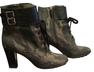 Franco Sarto Camouflage Boots