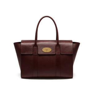 Mulberry Satchel in Oxblood