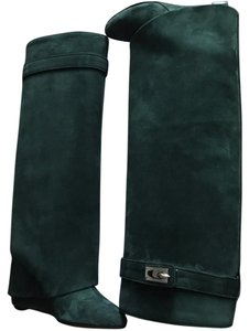 Givenchy Emerald Green Boots