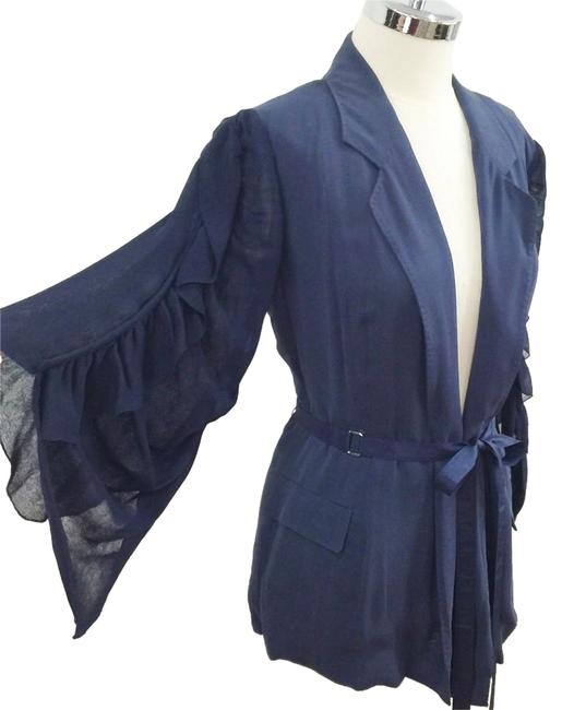 Preload https://img-static.tradesy.com/item/19855853/aquascutum-blue-open-with-ruffle-sleeves-blazer-size-2-xs-0-1-650-650.jpg