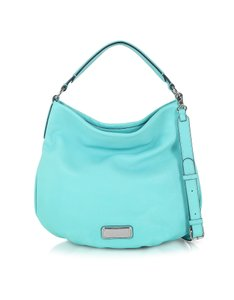 Marc by Marc Jacobs Q Hiller Leather Hobo Bag