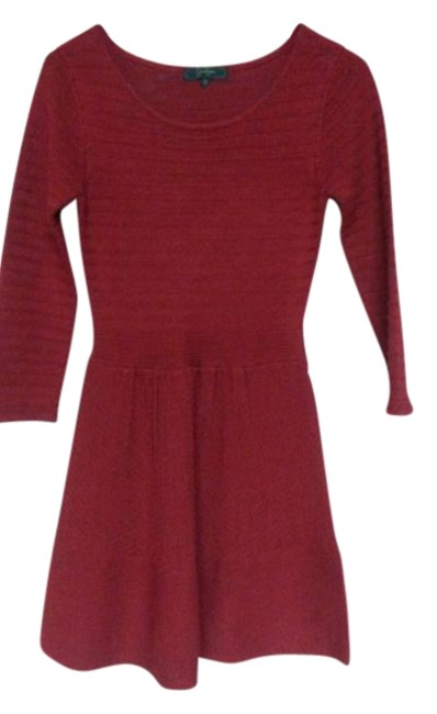 Preload https://img-static.tradesy.com/item/19855891/jessica-simpson-burned-red-mid-length-night-out-dress-size-4-s-0-1-650-650.jpg