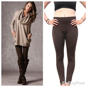 Fashion Envy Brown Leggings