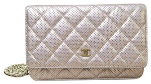 Chanel Perforated Woc Wallet On Chain Shoulder Bag