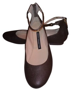 Kenneth Cole Dark Brown Flats