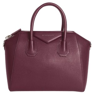 Givenchy Tote in Burgandy