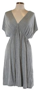 Nicole Miller short dress Grey Jersey Dolman on Tradesy