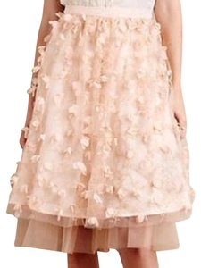 Anthropologie Skirt Blush