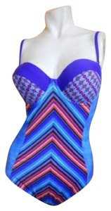 Gottex Neo Tribe Bandeau One Piece Swimsuit