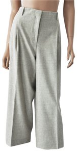 Lafayette 148 New York 90% Wool 8% Cashmere Capri/Cropped Pants Light Mocha