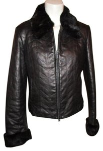 Other Lambskin black Leather Jacket