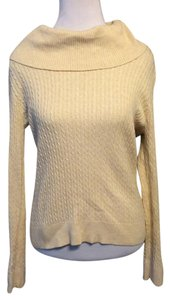 PRIA Pullover Cowl Solid Cotton Sweater