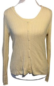 Ann Taylor Classic Twinset Cardigan Shell Solid Sweater