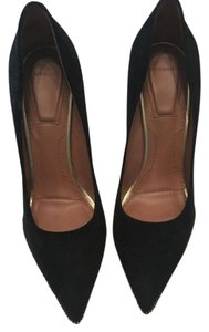 Givenchy Pointed Toe Pump Suede Black Pumps