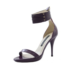 Gianfranco Ferre Purple Sandals