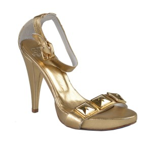 Gianfranco Ferre Gold Sandals
