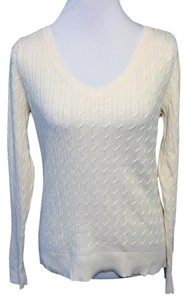 Talbots Classic Cotton V-neck Sweater