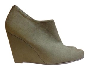 Call It Spring Wedge Bootie Taupe Boots