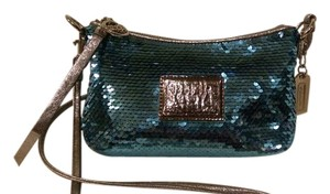 Coach Poppy Sequins Cross Body Bag