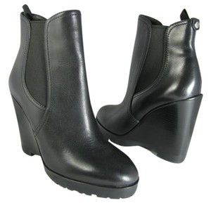 Michael Kors Wedge Ankle black Boots