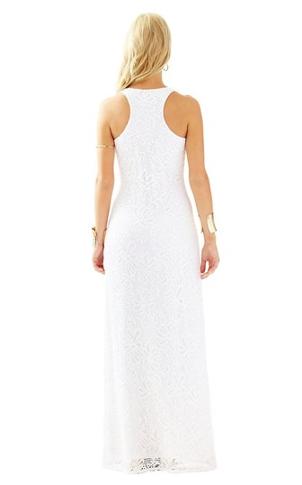 071dc9b5 on sale Lilly Pulitzer White Aster Lace Maxi Maxi Dress - 42% Off Retail