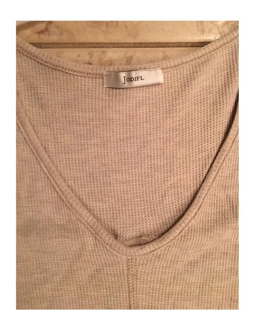 Oatmeal/Red Bean Jodifl Women's Long Sleeve Thermal Cold Shoulder S M L Blouse Size 12 (L) Oatmeal/Red Bean Jodifl Women's Long Sleeve Thermal Cold Shoulder S M L Blouse Size 12 (L) Image 10