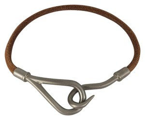 Hermès Hermes Tan Leather Jumbo Bracelet