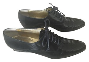 Walter Steiger Patent Leather Lace Up Black Boots