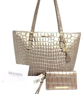 Brahmin Asher L15806400 Tote in TAUPE