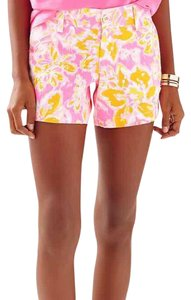 Lilly Pulitzer Dress Shorts Orange and pink