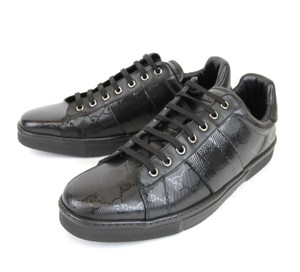 Gucci Gg Imprime Lace-up Trainer Sneaker Sz 6 227988 1000